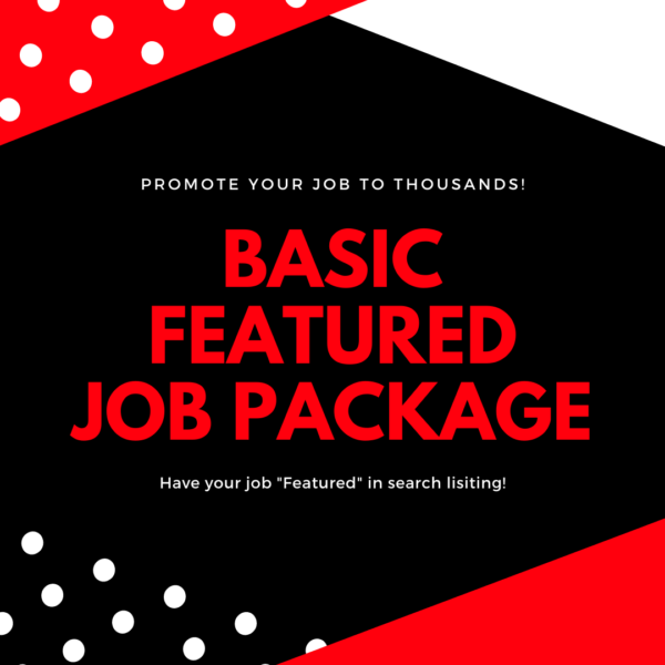 Basic Featured Job Package