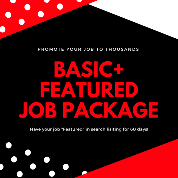 Basic Plus Featured Job Package